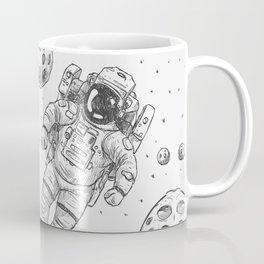 astro Traveller Retro Coffee Mug