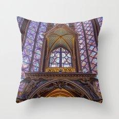 Sainte Chapelle - Paris Throw Pillow