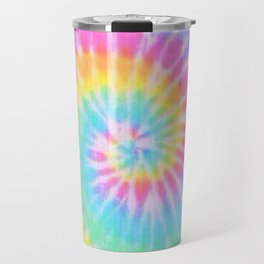 Rainbow Tie Dye Travel Mug