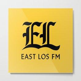 East Los FM Metal Print