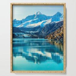 Alaska Glacier bay Serving Tray