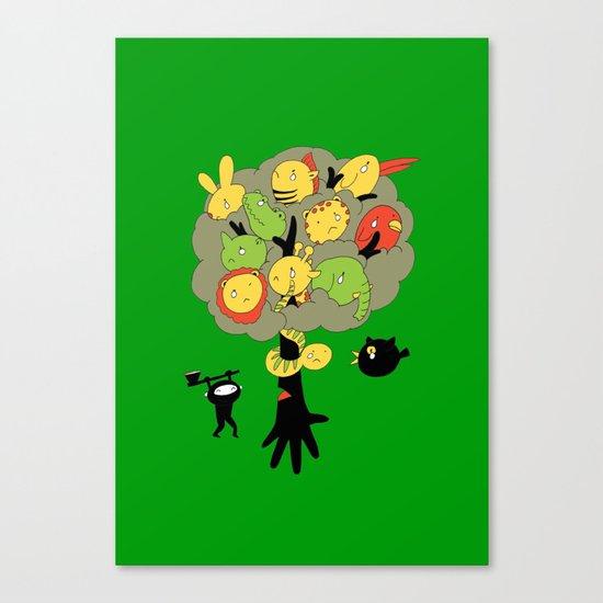 The Ninja Assassin Canvas Print