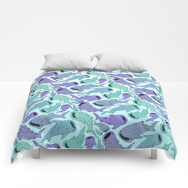 Whale Sharks Comforters