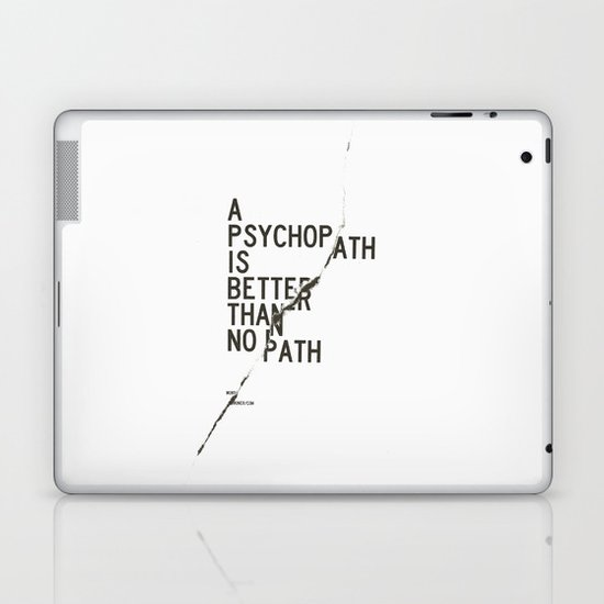 Psychopath Laptop & iPad Skin