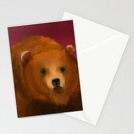 Color Pop Bear Stationery Cards