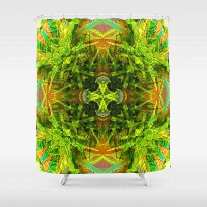 Kentucky Hemp Shower Curtain