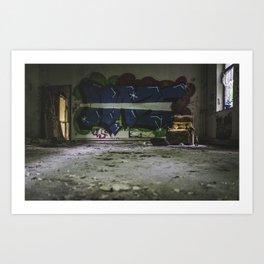 Agnus Dei Rots Away III Art Print