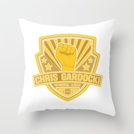 Chris Gardocki Memorial League Throw Pillow