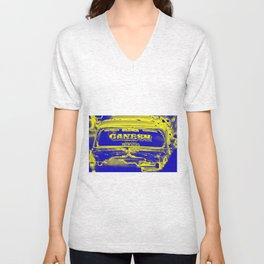 Ganesh rocks Unisex V-Neck