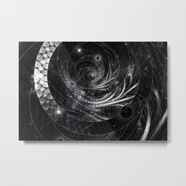 Cosmic Midnight - Mystery of the Onyx Metal Print