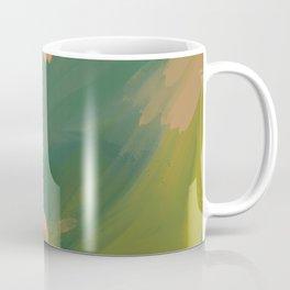 The Emerald Expanse, Abstract Coffee Mug