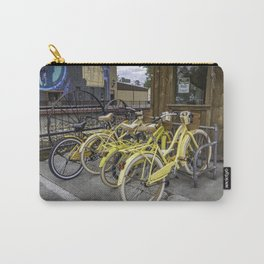 Yellow Bicycles Carry-All Pouch