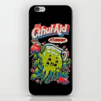 old iPhone & iPod Skins featuring CTHUL-AID by BeastWreck