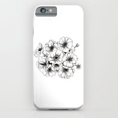 Anemones Bouquet Slim Case iPhone 6s