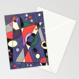 Abstract #747 Stationery Cards