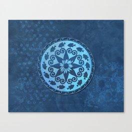 Bluegill Medallion Canvas Print