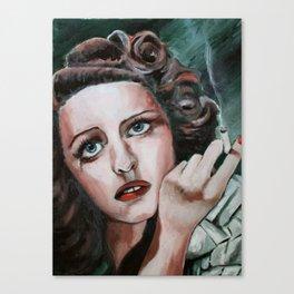 Bette Davis Eyes Canvas Print