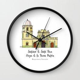 Divina Pastora Wall Clock