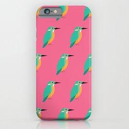 Colourful kingfishers iPhone Case