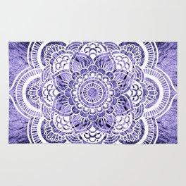 Mandala Lavender Colorburst Rug