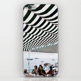 Bold Stripes, Capri iPhone Skin
