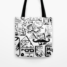 Little Musket Monsters Tote Bag