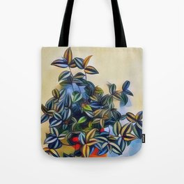 flower leavs Tote Bag