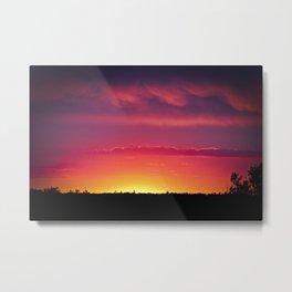 Fairytail Sunset Metal Print