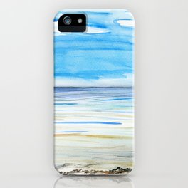Changing weather iPhone Case