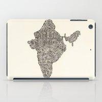 india iPad Cases featuring India by Mariana Beldi