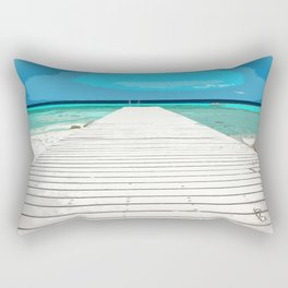beautyfull pier Rectangular Pillow