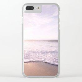 Sea Pastel Beach Tropical Clear iPhone Case