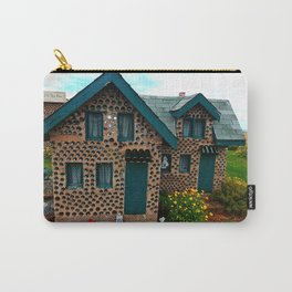 Green Gabled Bottle House Carry-All Pouch