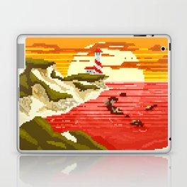Pixel Beach Laptop & iPad Skin