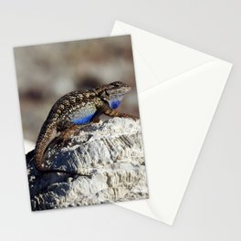 Western Fence Lizard Stationery Cards