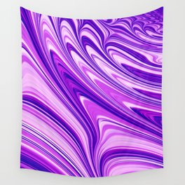 Sublime Ultra Violet Wall Tapestry