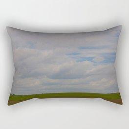 Big Land Big Sky Rectangular Pillow