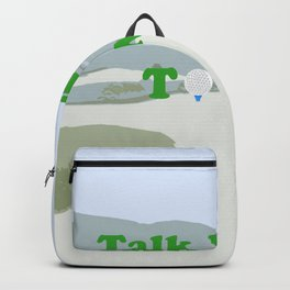 Talk Birdie to Me Backpack