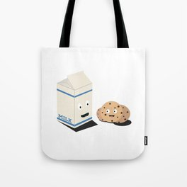 Cookies and Milk best friends Tote Bag