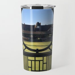 Autumn at the International Tennis Hall of Fame Travel Mug
