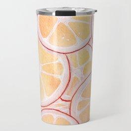Tangerine Ring Party! Travel Mug
