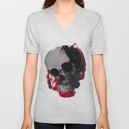 Off with my head Unisex V-Neck