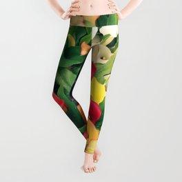 Rainbow Calla lily Leggings