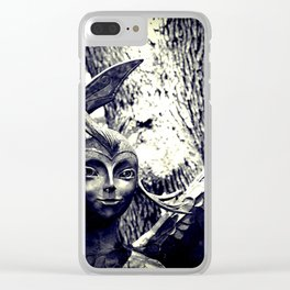 Forest Fairies Clear iPhone Case