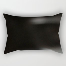 BLK ABSTRACT Rectangular Pillow
