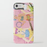 band iPhone & iPod Cases featuring Rock Band by Katie Turner