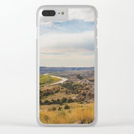 Badlands, Theodore Roosevelt NP, ND 22 Clear iPhone Case