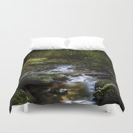 Reality lost Duvet Cover