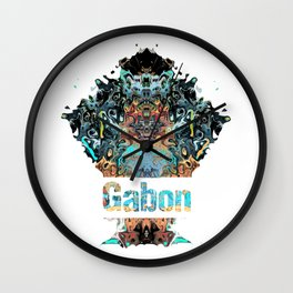 Gabon Awesome Country gift Wall Clock