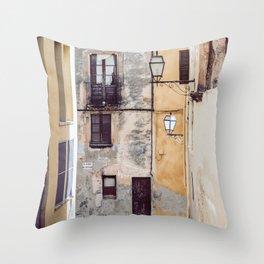 Urban Street Throw Pillow